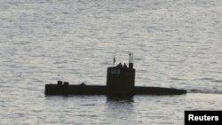 Самодельная подлодка UC3 Nautilus, на борту которой, вероятно, была убита Ким Валль.