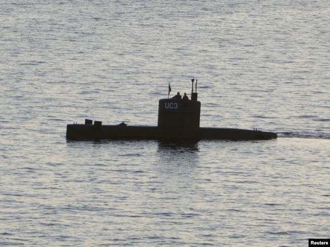 """Подводная лодка """"Наутилус"""", которую сконструировал Петер Мадсен. Здесь была убита Ким Валль"""