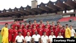 Тими миллии мунтахаби Сингапур. Акс аз сомонаи федератсияи футболи ин кишвар