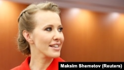 "Ksenia Sobchak has stirred controversy by saying Crimea is legally part of Ukraine and calling the referendum staged to justify its annexation ""a sham."""