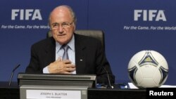 Зепп Блаттер, президент Международной федерации по футболу ФИФА.