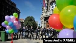Parada ponosa u Beograd, 2014.