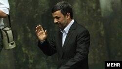 محمود احمدی نژاد، ریيس جمهوری اسلامی ايران