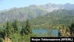 Площадь заповедника Сары-Челек составляет 24 тысячи гектаров.