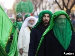 İran - Aşura, küçə yürüşü