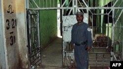 Pamje nga një burg në Afganistan nga i cili në vitin 2011 patën ikur qindra të burgosur talibanë