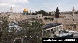 Вид города Иерусалим.