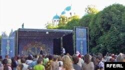 Концерт в центрі міста Глухів