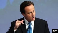 Дэвид Камерон, лидер консервативной партии Великобритании