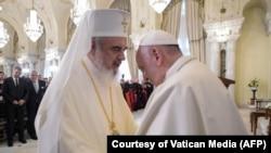 Patriarhul Daniel și Papa Francis