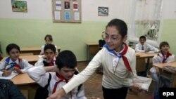 Только для своих. Занятия в тбилисской спецшколе №9