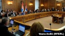 Sednica Vlade Srbije, ilustrativna fotografija