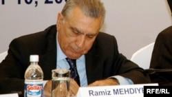 Arxiv fotosu: Prezident Administrasiyasının rəhbəri Ramiz Mehdiyev