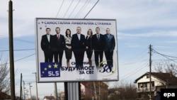 Pano elektorale në Graçanicë.