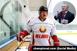 Президент А.Лукашенка жана анын сынчысы В.Жириновский. Фотомонтаж. 29.3.2020.