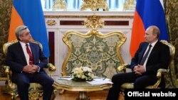 Встреча президентов России и Армении в Москве, 8 мая 2014 г.