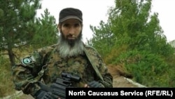 Муслим Чеберлоевский, командир батальона им. Шейха Мансура