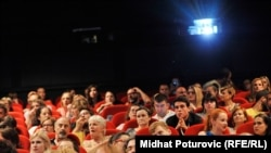 Sarajevo u mraku kino dvorana