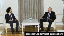 Pyer Alen Rafan və İlham Əliyev