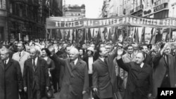 Pokret za reforme i liberalizaciju pod vodstvom Aleksandra Dubčeka, Prag, 1. maj 1968.