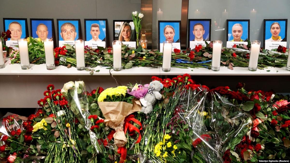 Зеленский встретился с родственниками украинцев, погибших в авиакатастрофе в Иране