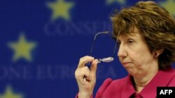 Catherine Ashton, EU high representative for foreign policy and the -- as yet -- designated head of the EEAS.