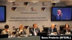 Sa nacionalne konferencije o korupciji u zdravstvu, 28. oktobar 2013.