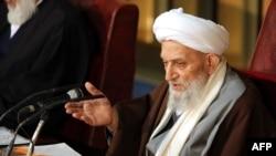 Ayatollah Mahdavi Kani in a March 2013 file photo