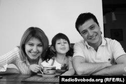 Олена і Володимир Зеленські разом з донькою