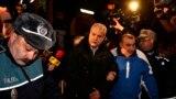 Fostul premier Adrian Năstase adus la închisoarea de la Rahova, 6 ianuarie 2014