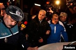 Adrian Nastase adus la închisoarea Rahova, 6 ianuarie 2014