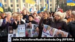 Митинг оппозиции в Харькове с требованием пересчета голосов или новых выборов, 9 ноября 2010