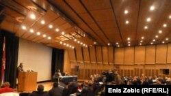 Predstavnici seljačkih udruga dogovaraju prosvjede, Zagreb, 31. siječanj 2012.