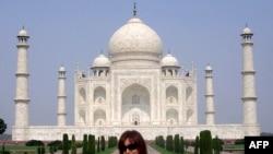 Президент Аргентины Кристина Фернандес де Киршнер во время поездки в Индию