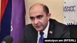 Глава партии «Лусавор Айастан» («Просвещённая Армения») Эдмон Марукян (архив)