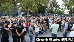 Протест під мерією Одеси, 16 вересня 2017 року