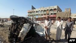 Pamje nga një sulm i mëparshëm në lagjen Sadr City të Bagdadit