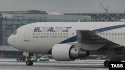 Самолёт израильской авиакомпании El Al