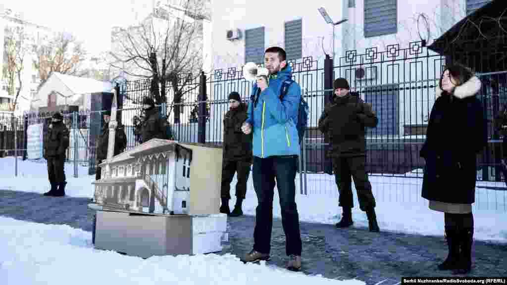 Программный директор «Крымского дома» Алим Алиев.