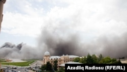 Fire Strikes Baku's Heydar Aliyev Center