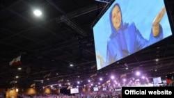 مراسم مجاهدین خلق ایران در پاریس