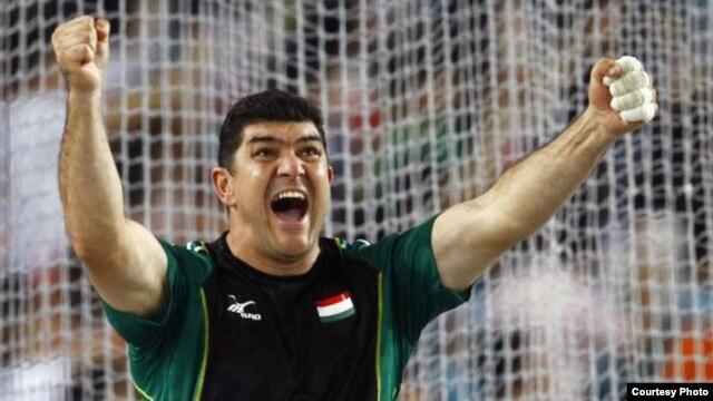 Дилшод Назаров - лучший спортсмен 2015 года
