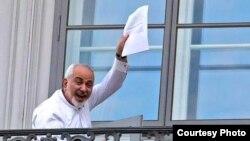 Министр иностранных дел Ирана Мохаммад Джавад Зариф в Вене. 13 июля 2015 года.