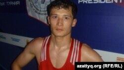 Боксшы Біржан Жақып. Алматы, 10 мамыр, 2012 жыл