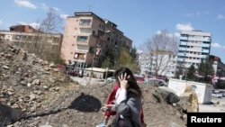 Pamje nga Mitrovica...