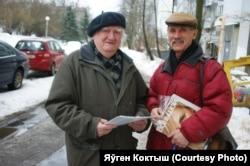 Мастакі Анатоль Бараноўскі і Віктар Барабанцаў