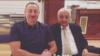Azerbaijan. Baku. President ilham Aliyev with his relative