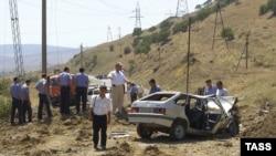 Первая попытка убийства Магомедтагирова была предпринята на трассе Махачкала - Буйнакск 8 августа 2006 года