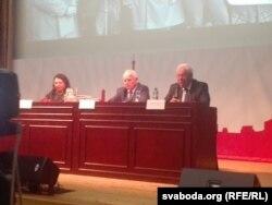 Галіна Сапожнікава, Альгімантас Наўджунас, Міхаіл Галаватаў