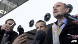هرمان ناکارتس پیش از سفر به تهران برای مذاکرات آذر ۹۱